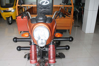 Three wheeled cargo motorbike
