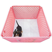 cheap prices plastic pet fence pet dog kennel playpen cat run