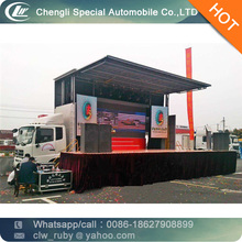 High Quality Folding Stage Vehicle mobile stage vehicle stage truck