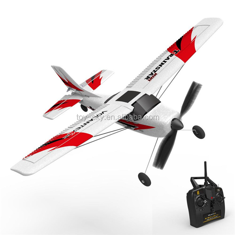 Hot Sale Lanyu Exhoby 761-1 2.4G 4CH RC Airplane Model RTF Trainstar Mini