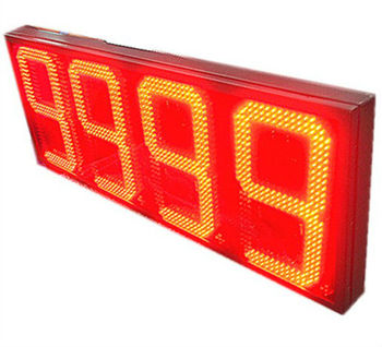 4 digits LED gas price display