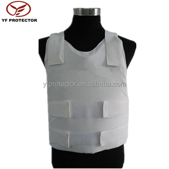 Body armor equipment concealable kevlar bullet proof vest