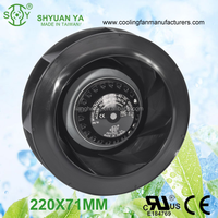 High Speed Centrifugal Axial Fan With External Rotor Motor