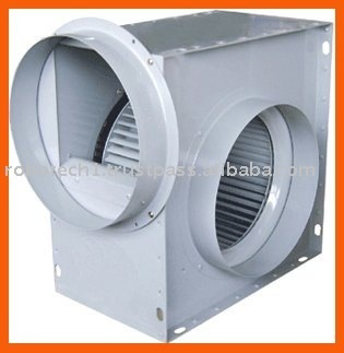 Sirocco ventilation fan