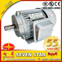 Y series three phase 1.5 kw 2 hp electric motor