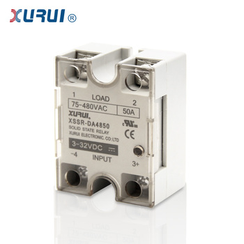 UL TUV approved SSRDA4850 DC to AC 480VAC Solid State Relay