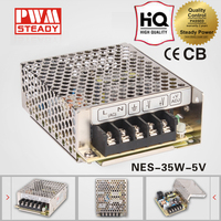 High Performance NES 35W Single Output Power Supply 5V 7A AC DC Switching Mode Smps/Psu/Led Driver Unit NES-35-5