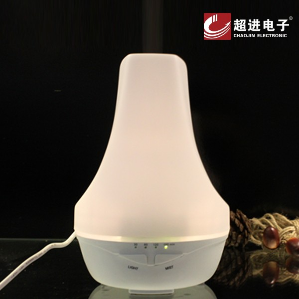 2016 new Ultrasonic 12V 1A CJ-703A warm light oil aroma mist humidifier