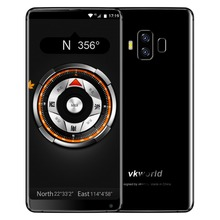Latest Design VKWORLD S8 5.99'' HD in-cell Android Mobile Phone Face Recognition 64G ROM 13+16MP 4G Cell Phone Mobile