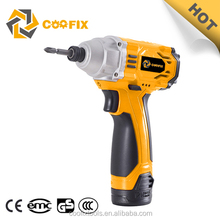 CF3001 12V dc motor electric mini cordless battery powered screwdriver