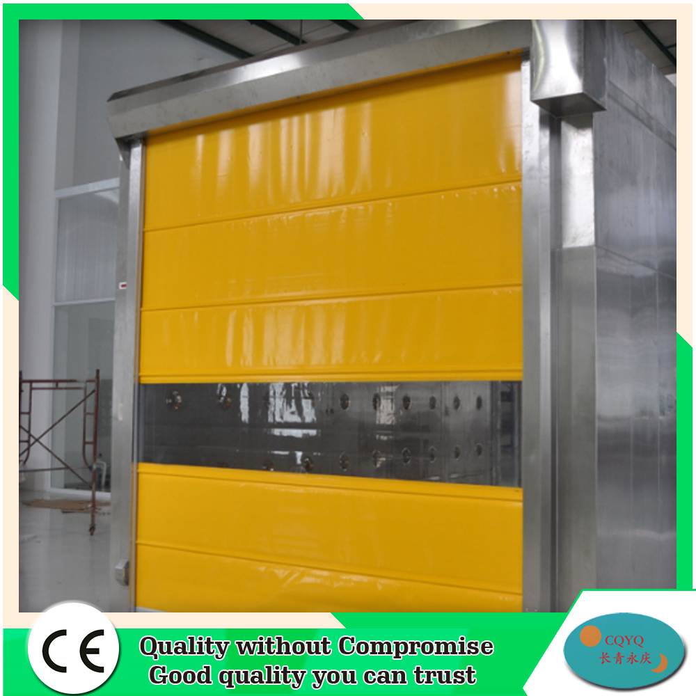 CE certificate automatic industrial fabric high speed roll up door