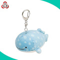 Hot sell oem keychain soft toy key chain plush fish keychain