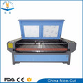 Fabric laser cutting dress leather plastic automatic fabric cutter laser engraving machine price