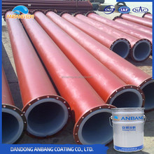 Steel pile middle layers two-component polyurethane paint for electric motors