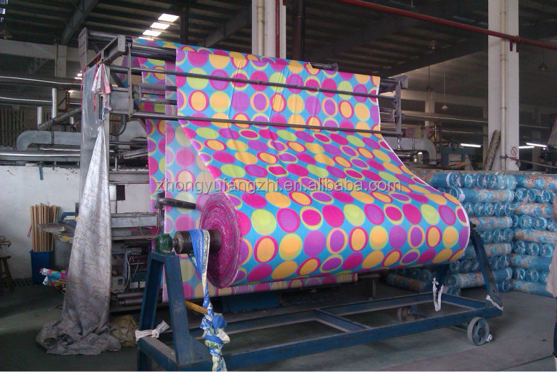polyester plain brushed disperse printing bed sheet fabric in stock