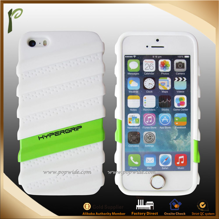 Popwide new design for hot brands , simple multicolor Silicon Gel cell phone cases,