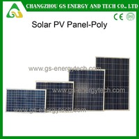 poly 156 cells 72 pcs cells 300w panel solar cell