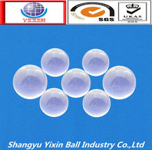 Good quality professional transparent small glass balls