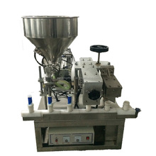 NF-20 Manual plastic cosmetic tube filling and sealing machine with factory price