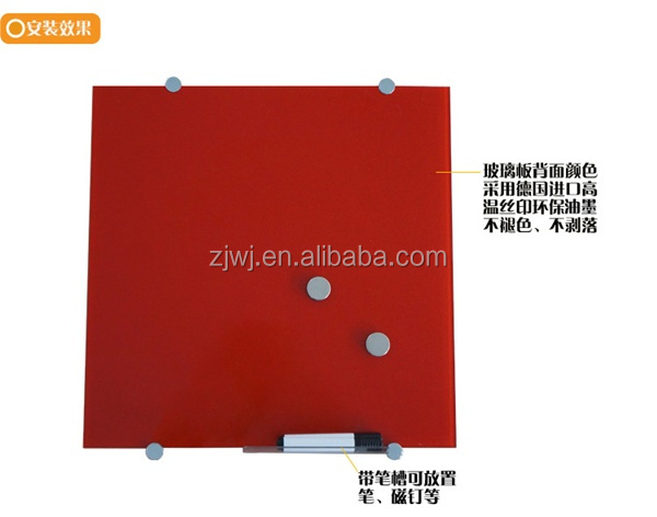 Jiangsu supplier office magnetic tempered glass board
