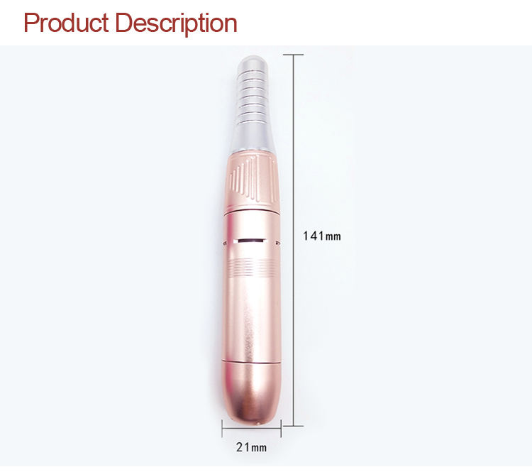 3 Colors Professional Manicure  Nail Drill Machine Mini Portable Electric Nail Drill with 6 pcs Nail Drill Bits