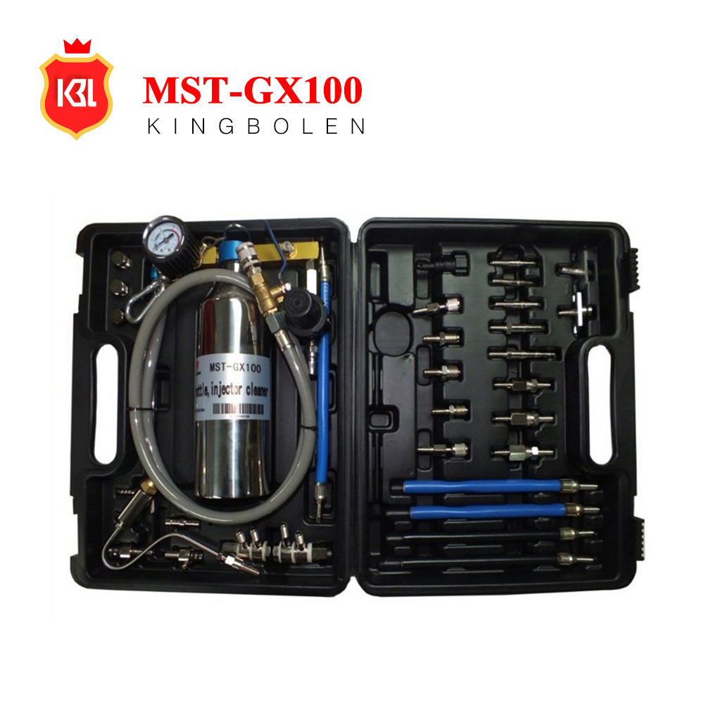 2017 Hot selling MST GX100 Non-Dismantle Fuel Injector Cleaner Kit MST-GX100 Clean the Air intake system