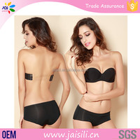 Sexy Image Blossom Seamless Strapless Sexy Bra And Panty New Design
