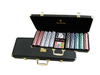 Wholesale High quality professional 500 wooden premium poker chip set