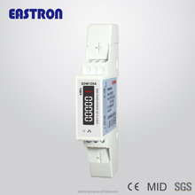 MID Approved SDM120A Single Phase DIN Rail Energy <strong>Meter</strong> Kilo Watt Hour <strong>Meter</strong>