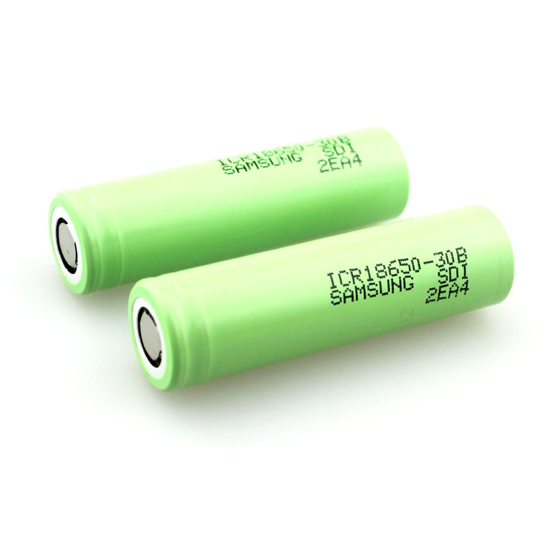 ICR18650-30B 3000mAh 3.8V Li-ion Rechargeable <strong>Battery</strong> (<strong>1</strong> Pair)