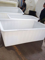 Best selling LLDPE fish farm tank factory