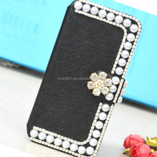 In Stock Handcraft Crystal Rhinestone Gem Sparkle Bling Cell Phone Case With Credit Card Slot For All iPhone/Samsung 2017 Hot