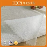 woven fusible interfacing/Circular knitted interlining/tube knitting interlining