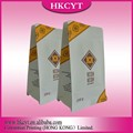 Chinese suppliers manufacturer food grade packaging coffee bags flat bottom clear coffee bags