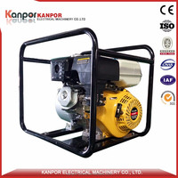 Hot sale 5.5hp gasoline water pump brand with CE&ISO&BV