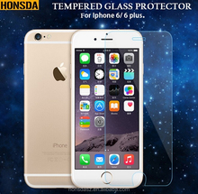 competitive price screen protector, temperted glass protect film for iphone 6/6 plus.