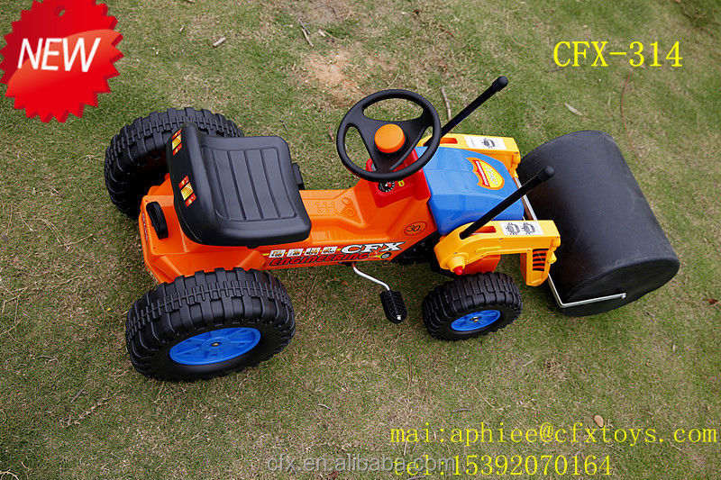 2014 Mini Tractor for Kids Riding Car Roller