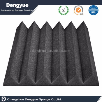 Wedge acoustic foam factory supplied used in music room