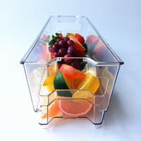 PET plastic ice storage bin /plastic tray