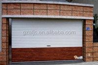 Guangzhou coiling up door,Stable elegant exterior aluminum roller shutter, electric aluminum roller shutter