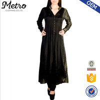 Black indian kurta designs for women handmade fancy khurta