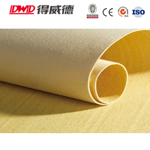 Hot sale 2017 3mm thickness high temperature resistant P84 fiber felt