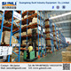 Q235B Steel Moveable Multi-Bay Industrial Stacking Pallet Rack