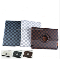 360degree rotate Leather protective case for pad2/3/4 pad air with auto sleep and holder