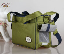 Wholesale Fashionable Waterproof Green Color Pet Carrier Bag Dog Backpack