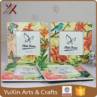 Ceramic photo frame any design 5x5inch gifts for anytime new product wholesale 2015 hot sale