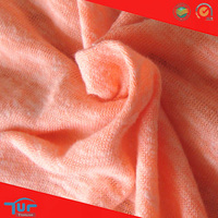 50 Polyester 38 Cotton 12 Rayon knitted single Jersey Fabric
