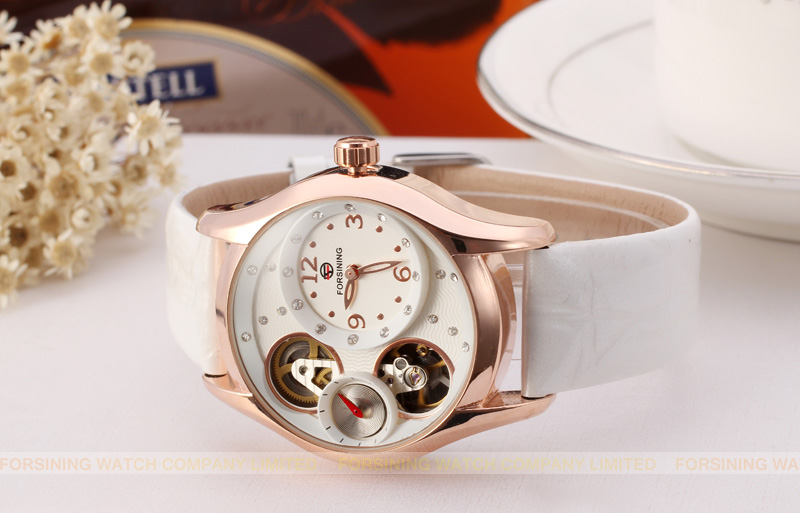 Forsining crazy hot 2017 latest quartz watches for young girl with cheap custom Relojes de mujeres