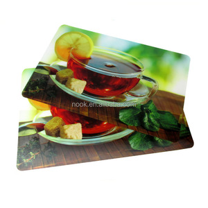 printed plastic place table mat