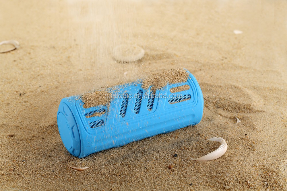 4400Mah Power Bank Bluetooth Speaker for outdoor use with waterproof,dustprooof, shcokproof and 10 Hours Long Battery life